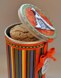 Halloween Cookie Gifts Halloween Cookie Can Using A Pringles Container Pringles Can