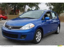2008 nissan versa interior 2008 sapphire blue nissan versa 1 8 sl hatchback 22764017