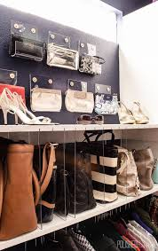 closet organizers miami gorgeous purse organizer in closet roselawnlutheran