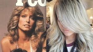 farrah fawcett hair color farrah fawcett hair is coming back as chandelier layers galore