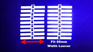 vertical blinds 89mm x10 top hanger spare parts ebay