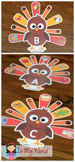 thanksgiving preschool centers in my world