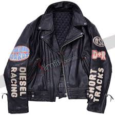 mens moto jacket vintage men u0027s black biker patches jacket