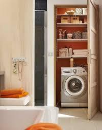 machine a laver dans la cuisine machine à laver comment les cacher côté maison