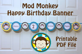 100 happy birthday banner printable template cake and balloon