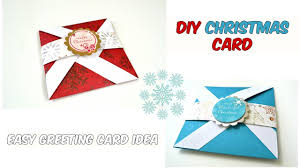 pinwheel folding card easy christmas greeting cards ideas 1