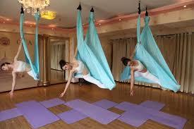 yontree 1 pc 5 meters elastic aerial yoga hammock anti gravity