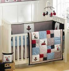 Nautical Crib Bedding Baby Bedding White Bed