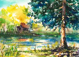 Pictures Of Landscapes by Landscape Painting Stock Photos Royalty Free Landscape Painting