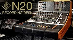 Studio Console Desk by Neumann N20 Vintage Analog Recording Desk Youtube