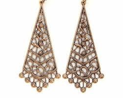 kerala style earrings ornate earrings etsy