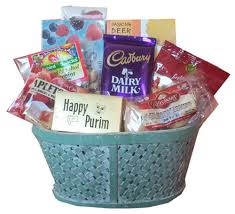 shiva baskets purim food basket
