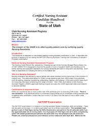 Nursing Assistant Cover Letter Examples by Impress The Employer With Great Certified Nursing Assistant Resume