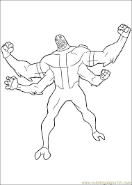 ben10 57 coloring free ben 10 coloring pages