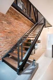 Industrial Stairs Design White Oak Stair Treads Search The Right Step
