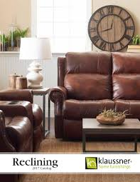 Klaussner Audrina Reclining 2017 Catalog By Klaussner Home Furnishings Issuu