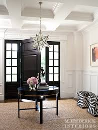 Black Foyer Table Foyer Table Transitional Entrance Foyer M Frederick