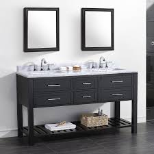 shop ove decors sarasota espresso undermount double sink bathroom