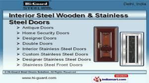 Steel Interior Security Doors Steel Security Doors U0026 Stainless Steel Doorsby Hi Guard Steel