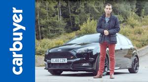 ford focus carbuyer ford focus st review 2017 batchelor carbuyer