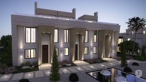 Modern Style Home New Unique Modern Style House In Marbella In Marbella Spain For