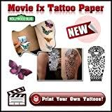 laser printer temporary tattoo transfer paper movie fx x 5 a4