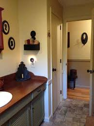 primitive bathroom ideas brilliant ideas of country bathroom decor ideas country primitive