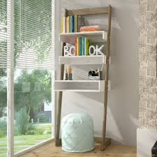 Ladder Bookcase Desk Combo Leaning U0026 Ladder Desks You U0027ll Love Wayfair