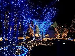 fantastic blue lights led with white