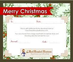 printable christmas gift vouchers christmas gift templates roberto mattni co