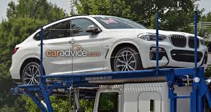 kereta bmw x5 2018 bmw x4 revealed without camouflage update photos 1 of 9
