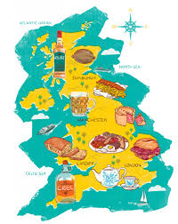 Great Britain World Map by The 10 British Foods You Have To Try And Why Huffpost