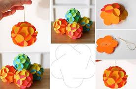 How To Make Paper Christmas Decorations At Home Creative Ideas Diy 3d Paper Ball Christmas Ornament