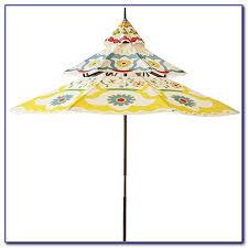 floral print patio umbrellas patios home decorating ideas