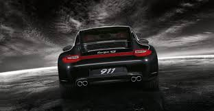 porsche 911 back 2011 black porsche 911 targa 4s wallpapers