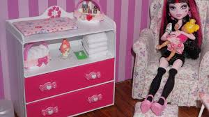 How To Make A Baby Changing Table How To Make Baby Changing Table Dresser For Doll High
