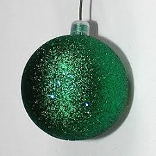 Champagne Glitter Christmas Decorations by Christmas Ornaments 8 Inch Plastic Ornaments Christmastopia Com