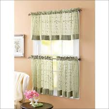 Half Window Curtains Kitchen Colorful Kitchen Curtains Green Patterned Curtains