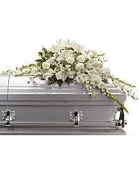 casket spray bountiful memories casket spray sympathy arrangement teleflora
