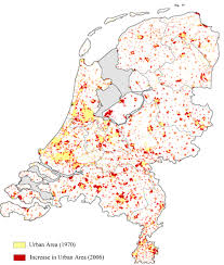 Map Of The Netherlands Interpretation Of Trends In Land Transformations U2014a Case Of Green