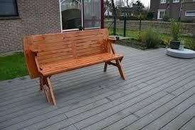 Convertible Picnic Table Bench Convertible Garden Bench To Picnic Table U2013 Exhort Me