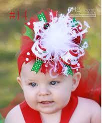 infant hair bows baby grosgrain feather hair bow girl ribbon satin hair