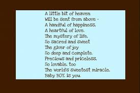 baby boy sayings boy poems and sayings find this pin and more on poems