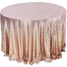 table cloth amazlinen sparkly gold sequin tablecloth 108
