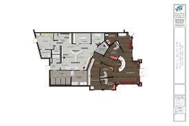 Doctor Office Floor Plan by Blue Frog Miller Office Rendering House