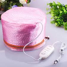 hair thermalizer store 3 class temperature control hair mask heated cap membrane electric