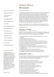 resume cover letter sample for hr assistant with 23 stunning
