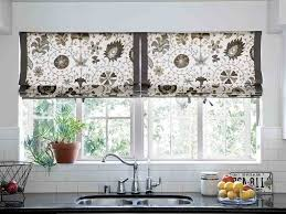 kitchen window treatments houzz home design inspirations