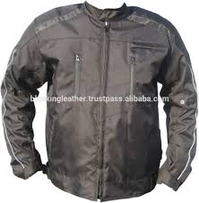 armored leather motorcycle jacket motorcycle cordura jacket mcj 1017 with ce approved armor quality