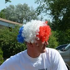 light up afro wig fun central o563 led light up afro wig patriotic qu ebay